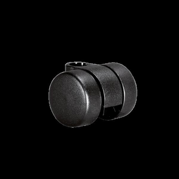 Doppelrollen Ø 30 mm - harte Lauffläche | Doppelrolle Ø 030 mm mit harter Lauffläche