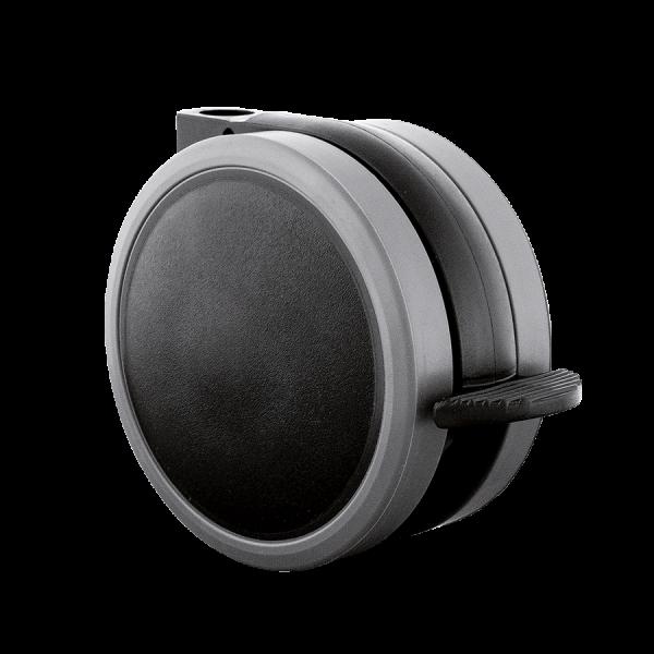 Doppelrollen Ø 65 mm - weiche Lauffläche | Doppelrolle Ø 065 mm mit weicher Lauffläche und Feststeller