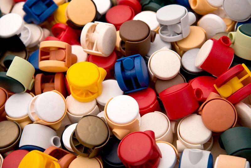 Möbelrollen in Farben