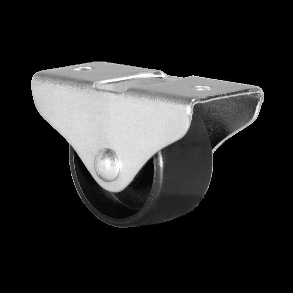 Kastenbockrollen | Ø 040 mm, Kastenbockrolle mit harter Lauffläche