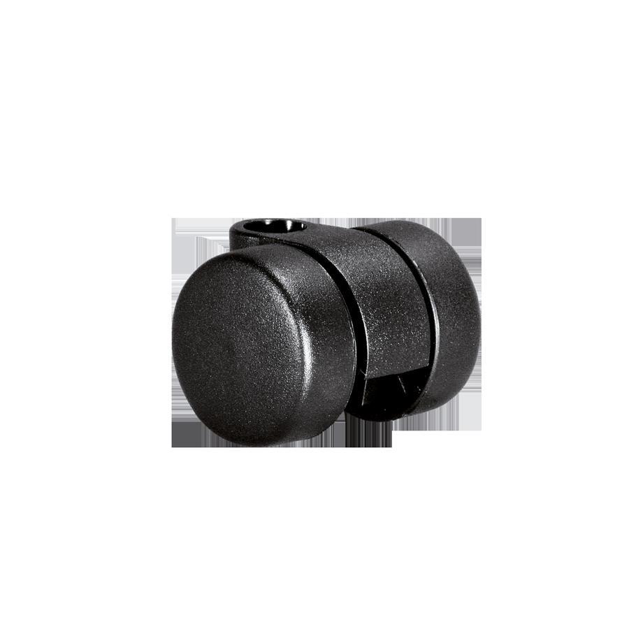 Doppelrollen Ø 30 mm - harte Lauffläche