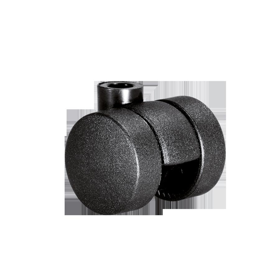 Doppelrollen Ø 35 mm - harte Lauffläche