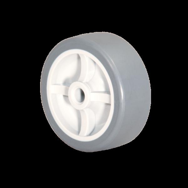 Kunststoffräder | Kunststoffrad Ø 030 mm mit weicher Lauffläche