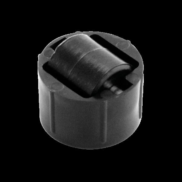 Einbauprodukte | Stollenrolle mit harter Lauffläche, Rad Ø 16 mm