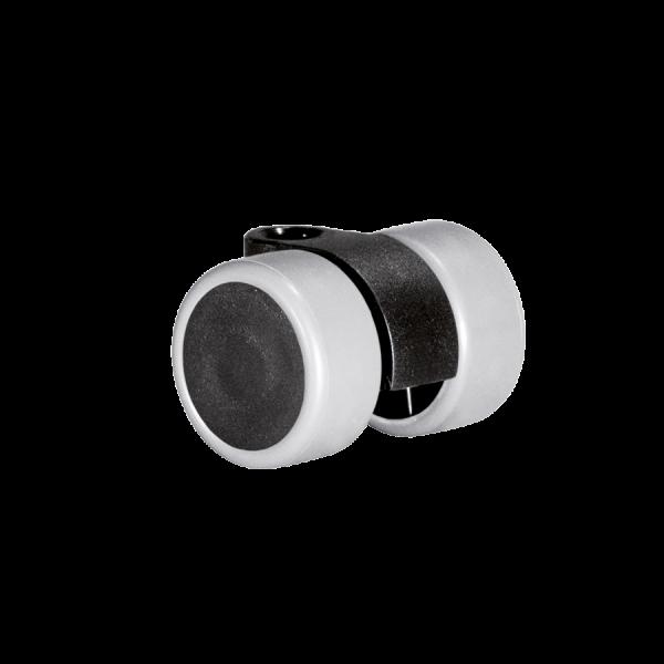 Doppelrollen Ø 30 mm - weiche Lauffläche | Doppelrolle Ø 030 mm mit weicher Lauffläche