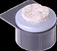 Stollengleiter mit aufgeschweißter Filzauflage, ohne Stollengehäuse