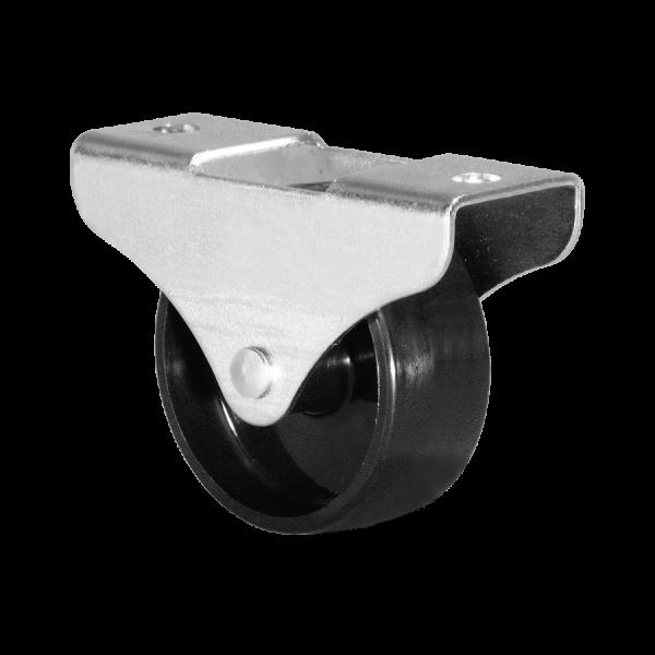 Kastenbockrollen | Ø 050 mm, Kastenbockrolle mit harter Lauffläche