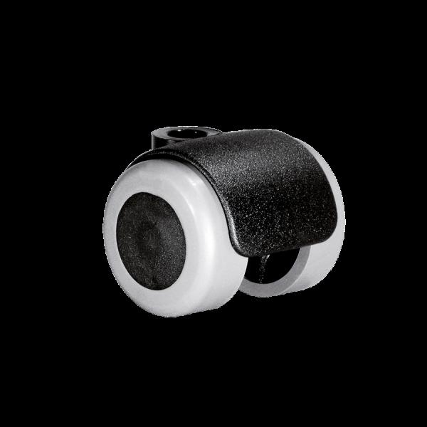 Doppelrollen Ø 35 mm - weiche Lauffläche | Doppelrolle Ø 035 mm mit weicher Lauffläche