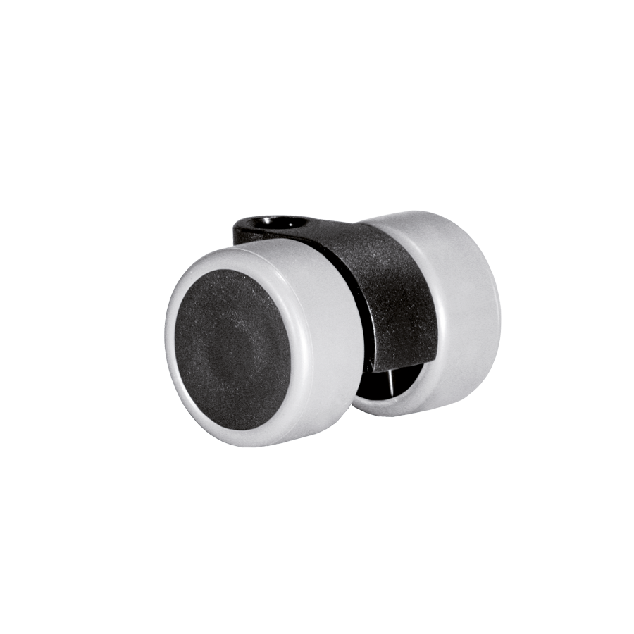 Doppelrollen Ø 30 mm - weiche Lauffläche