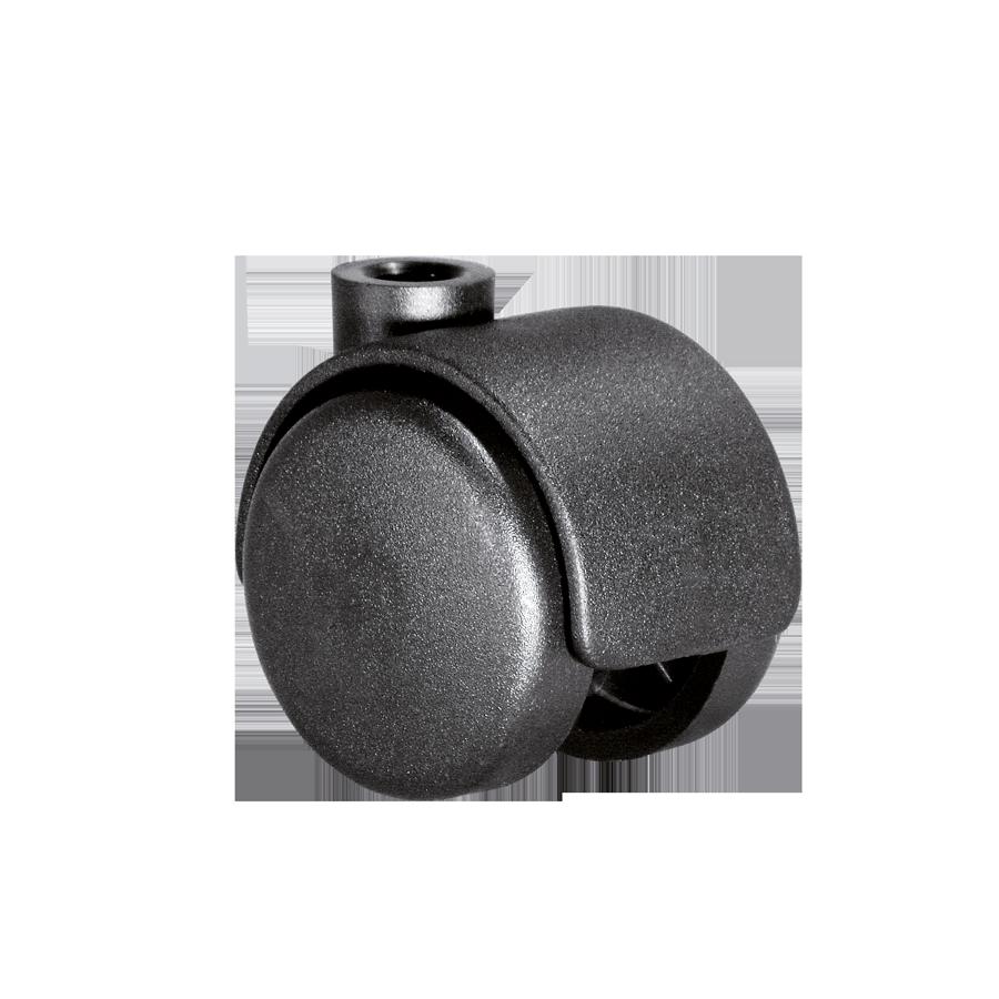 Doppelrollen Ø 40 mm - harte Lauffläche