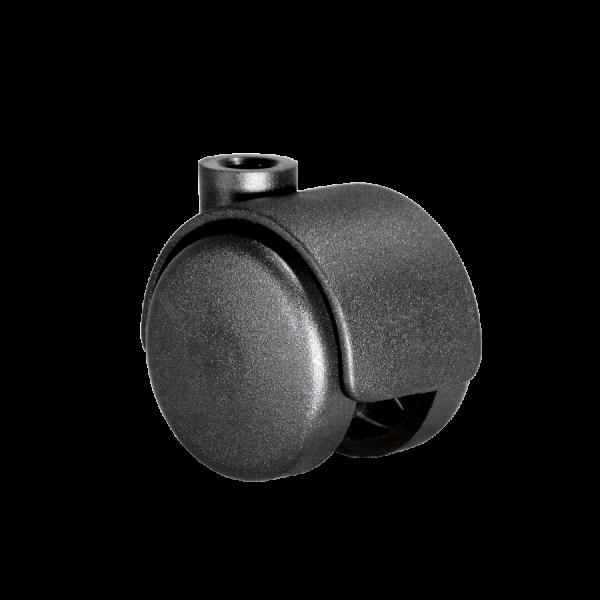 Doppelrollen Ø 40 mm - harte Lauffläche | Doppelrolle Ø 040 mm mit harter Lauffläche