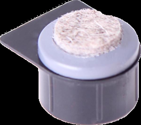 Einbauprodukte | Stollengleiter mit aufgeschweißter Filzauflage, ohne Stollengehäuse