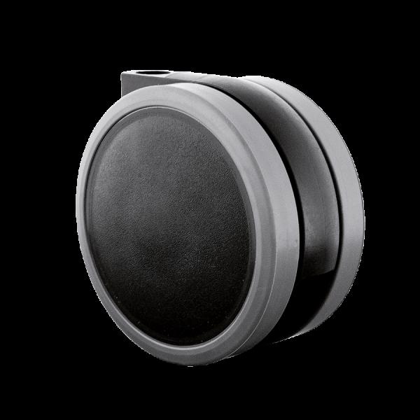 Doppelrollen Ø 65 mm - weiche Lauffläche | Doppelrolle Ø 065 mm mit weicher Lauffläche