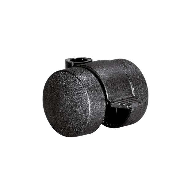 Doppelrollen Ø 35 mm - harte Lauffläche | Doppelrolle Ø 035 mm mit harter Lauffläche und Feststeller