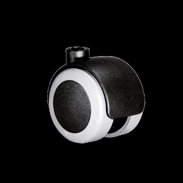 Doppelrollen Ø 50 mm - weiche Lauffläche | Doppelrolle Ø 050 mm mit weicher Lauffläche
