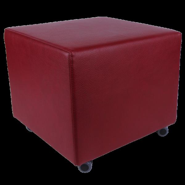 Schöner Wohnen | Rollender Sitzwürfel/Lounge-Würfel mit Bremsfunktion
